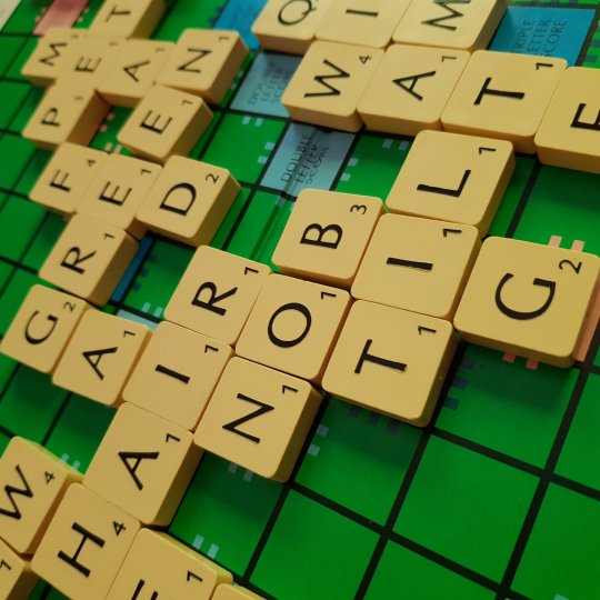 Playing scrabble with Max